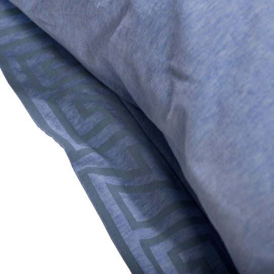 zoeppritz Chill out Kissenbezug, Farbe hellblau, Material Baumwolle in Groesse 40x80