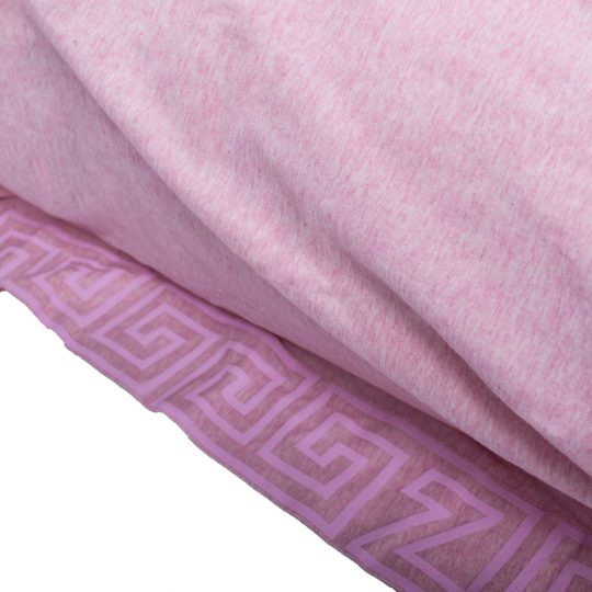 zoeppritz Chill out Kissenbezug, Farbe pink-rosa, Material Baumwolle in Groesse 80x80