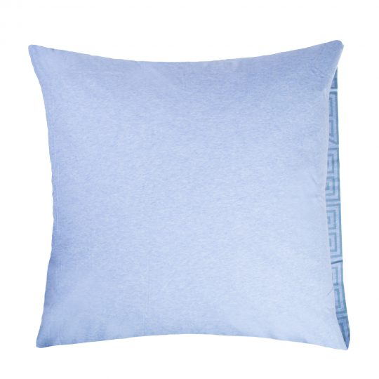 zoeppritz Chill out Kissenbezug, Farbe hellblau, Material Baumwolle in Groesse 80x80