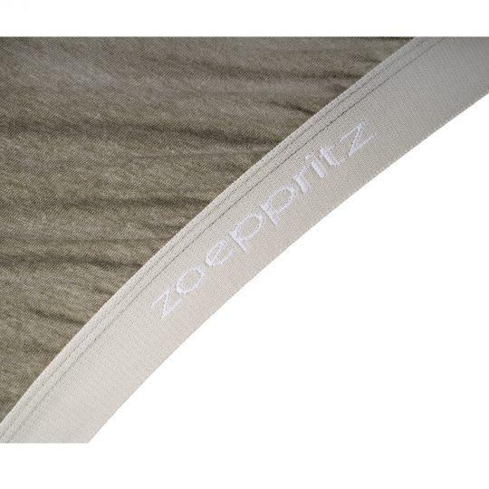 zoeppritz Chill out Spannbetttuch, Farbe gruen, Material Baumwolle in Groesse 180-200x200