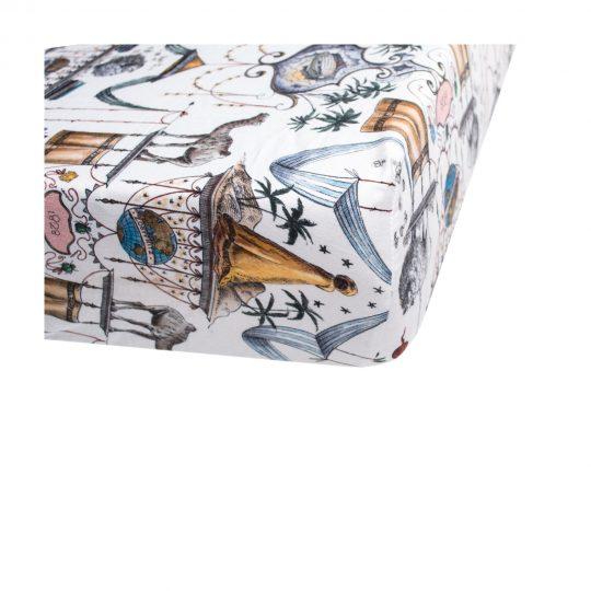 zoeppritz Centuries Spannbetttuch, Farbmix, Material Baumwolle in Groesse 140x200x30