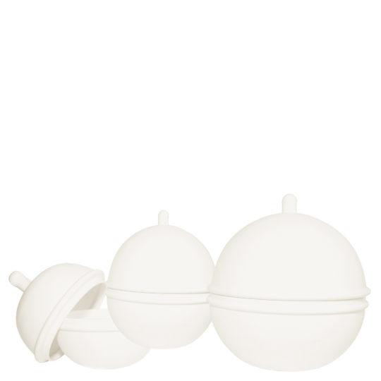 zoeppritz Titty Porzellan Schale, Farbe weiss klein