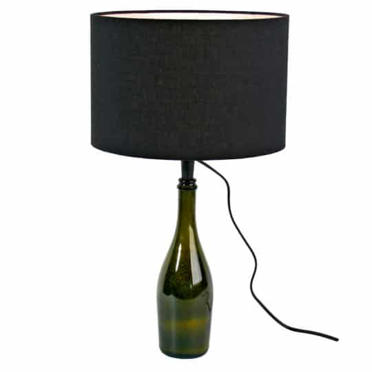 zoeppritz Glowing bottle top Lampe, Farbe schwarz