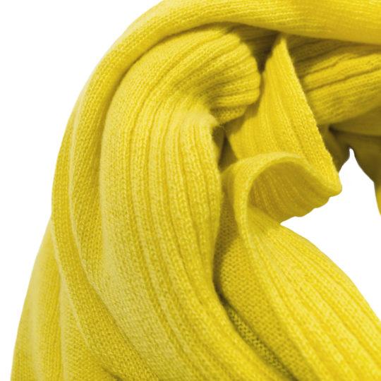 zoeppritz Hot Schal, Zitronengelb, Material Cashmere in Groesse 110x150