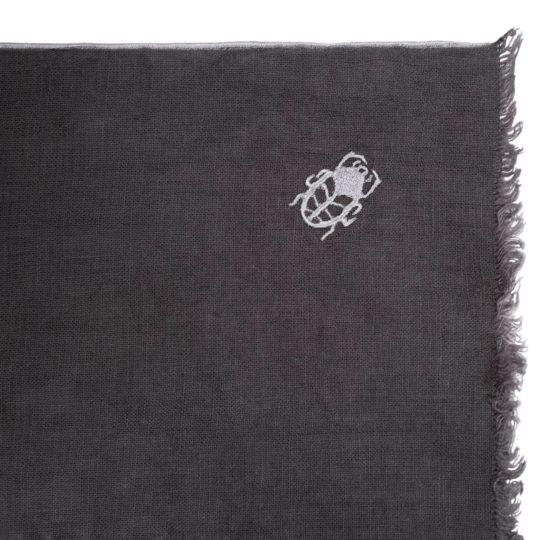 zoeppritz Stay Tischset Platzdecke, Farbe anthrazit, Material Leinen in Groesse 35x50