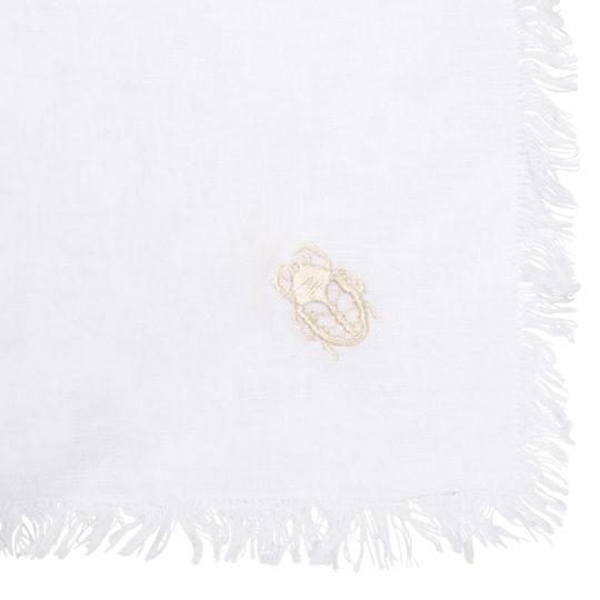 zoeppritz Stay Tischdecke, Farbe weiss, Material Leinen in Groesse 130x170
