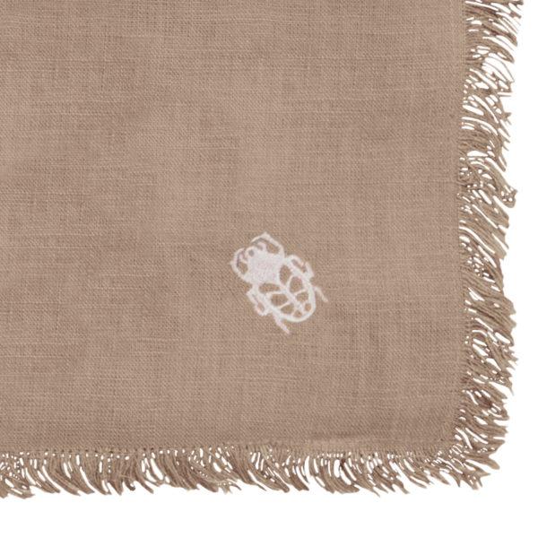zoeppritz Stay Tischdecke, Farbe natur, Material Leinen in Groesse 130x170