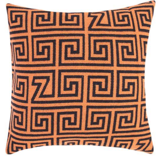zoeppritz Legacy Kissenhuelle, Farbe orange, Material Schurwolle Merino Cashmere, in Groesse 60x60