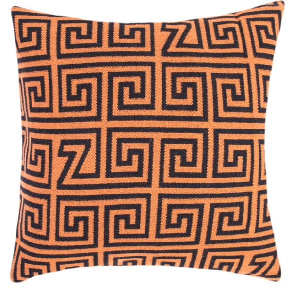 zoeppritz Legacy Kissenhuelle, Farbe orange, Material Schurwolle Merino Cashmere, in Groesse 60x60