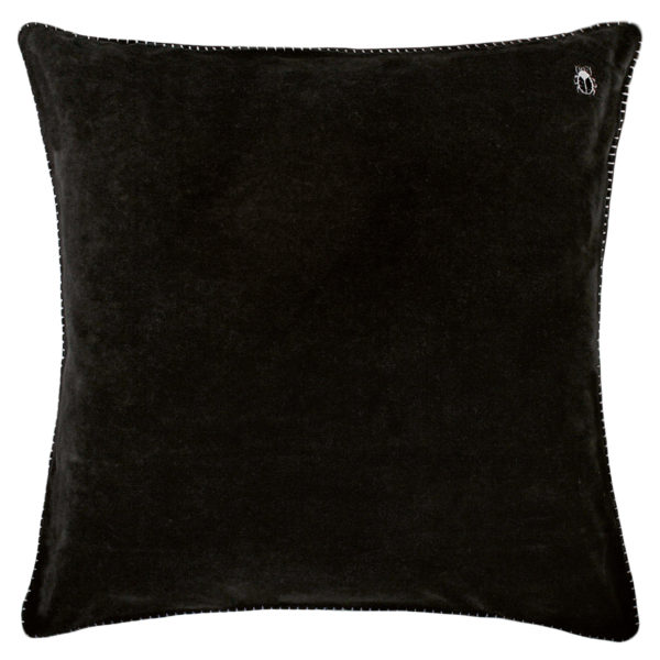 zoeppritz Darling Kissenhuelle, Farbe schwarz, Material Baumwolle in Groesse 40x40