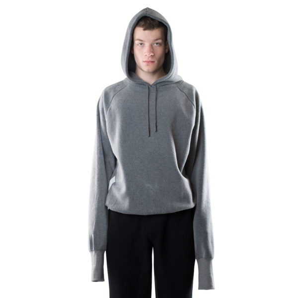 zoeppritz Soft Hoodie, Farbe grau, Material Fleece in Groesse S