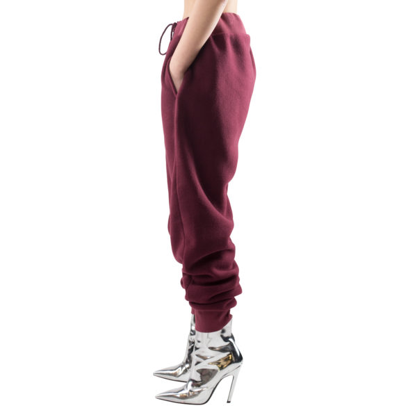 zoeppritz Soft Pants mit Bund, Farbe weinrot, Material Fleece in Groesse S