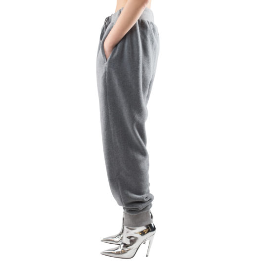 zoeppritz Soft Pants mit Bund, Farbe grau, Material Fleece in Groesse S