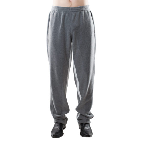 zoeppritz Soft Pants straight, Farbe grau, Material Fleece in Groesse M