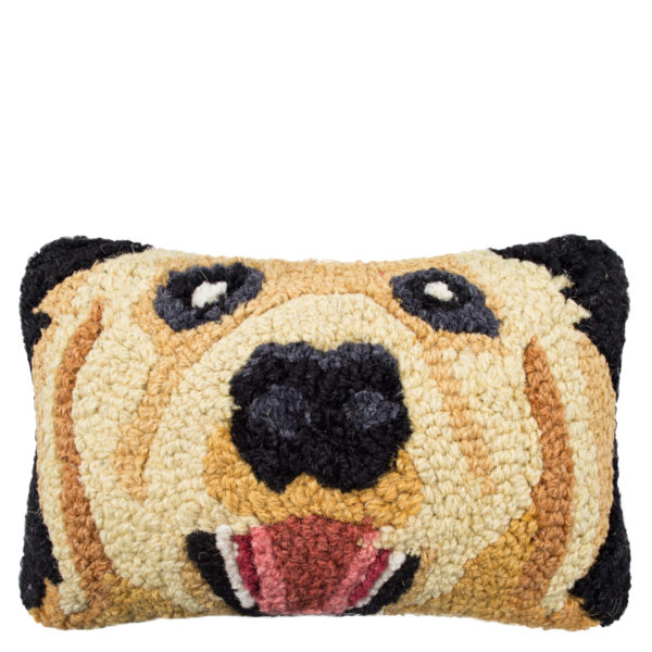 Chandler 4 Corner Retriever Kissenbezug, handgeknuepft, Muster, Material Wolle und Baumwolle, in Groesse 20x30
