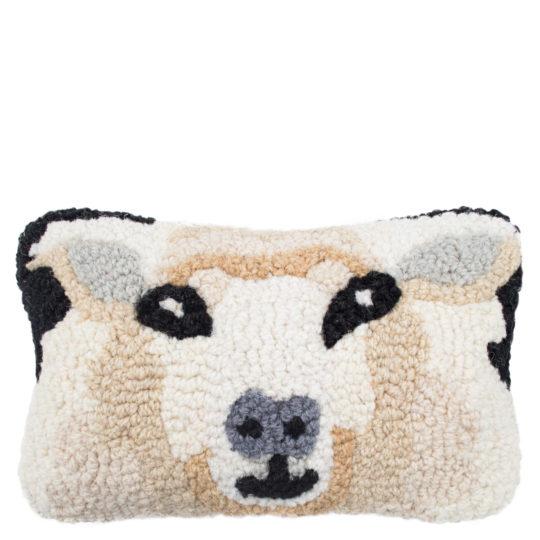 Chandler 4 Corner Sheep Kissenbezug, handgeknuepft, Muster, Material Wolle und Baumwolle, in Groesse 20x30