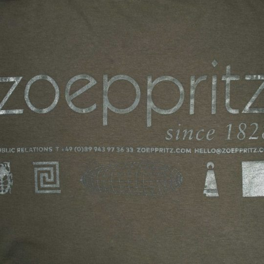 zoeppritz homage to h T-Shirt, Farbe gruen, Material Baumwolle in Groesse S