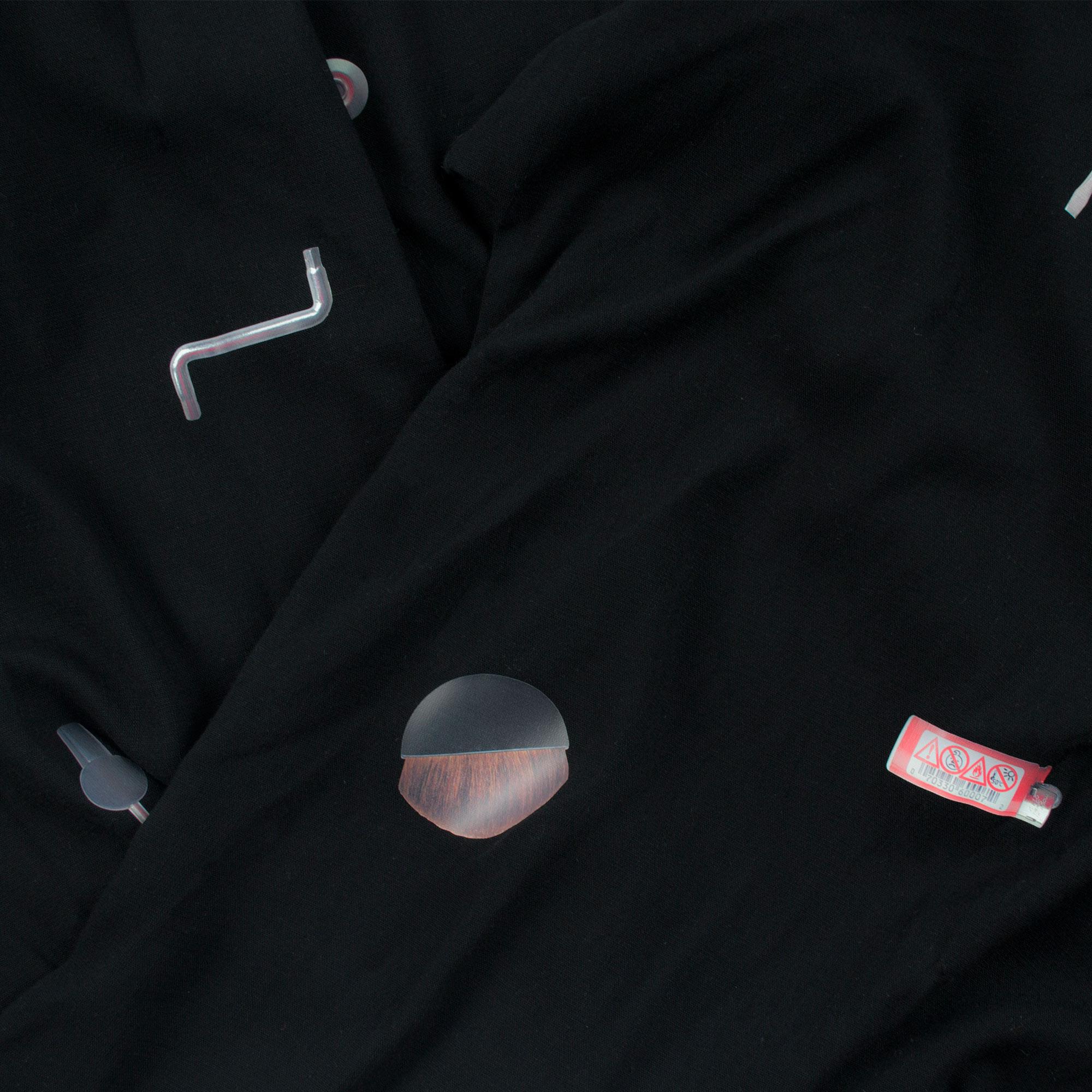 starstyling zoeppritz things kaftan, Farbe schwarz, Material Viskose in Groesse S
