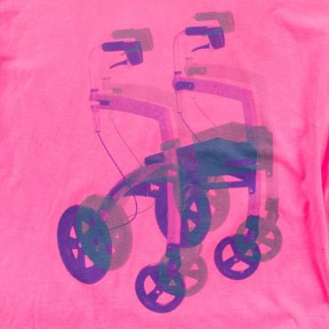 starstyling zoeppritz walking frame T-Shirt, Farbe pink, Material Baumwolle in Groesse S