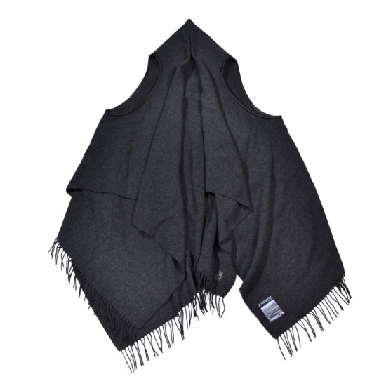 zoeppritz The Must Vest Weste anthrazit, Material Schurwolle onesize