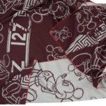 zoeppritz Mickey Heroine Decke Disney weinrot, Material Merinowolle Cashmere in Groesse 145x230