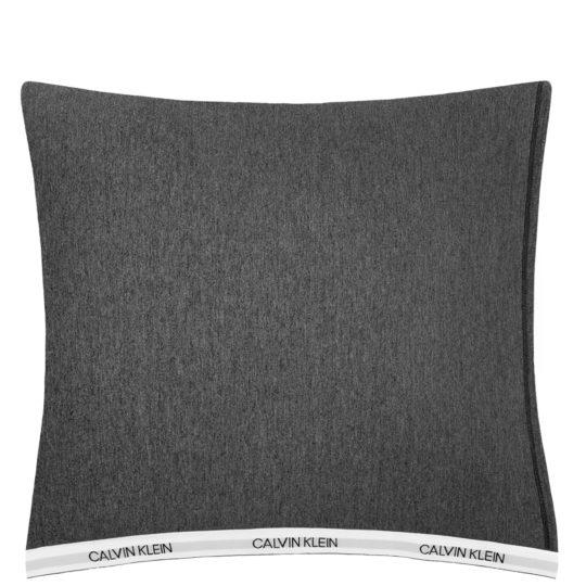 Calvin Klein Home Bettgarnitur Set Bettdecke Kopfkissen CLASSIC, Material Baumwolle Modal, anthrazit