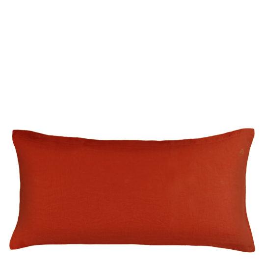 Zoeppritz Kissenbezug aus Leinen Stay, orange, Material Leinen in Groesse 40x80