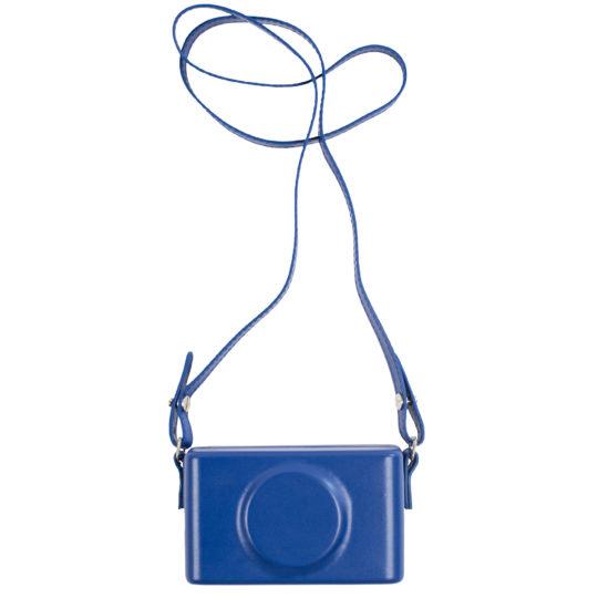 Camera Clutch blau