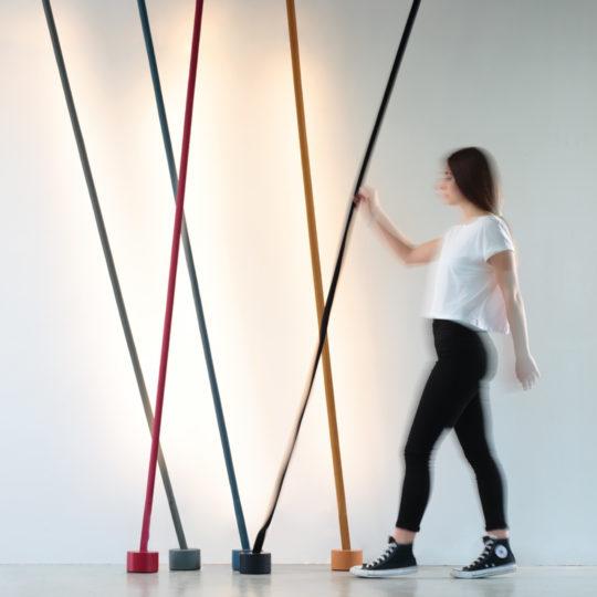 zoeppritz MARTINELLI LUCE Elastica LED Lightstrip Lampe grau