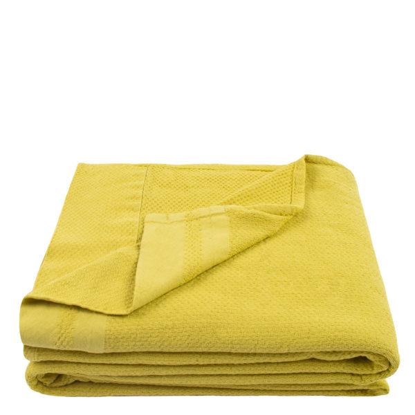 Baumwolldecke, Pique, Material Baumwolle, gelb