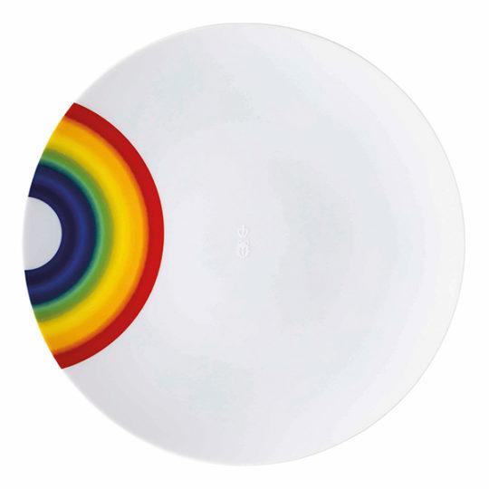 zoeppritz 331 Plate Teller, weiss, Material Porzellan, Durchmesser 28 cm