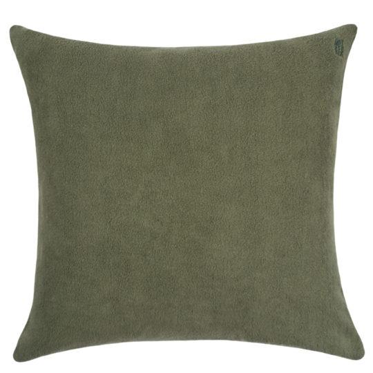 zoeppritz Soft-Greeny weicher Kissenbezug Farbe gruen, Material GOTS Bio-Baumwolle in Groesse 50x50