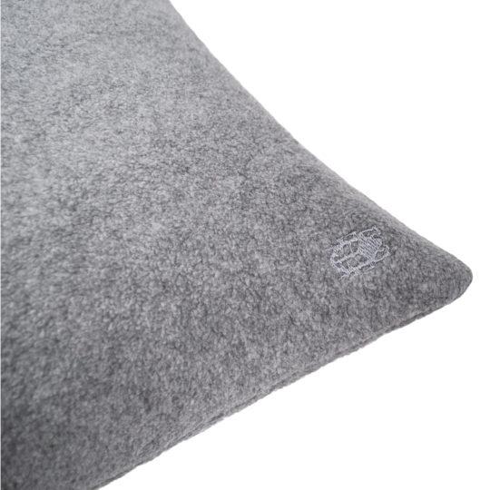 zoeppritz Soft-Greeny weicher Kissenbezug Farbe grau, Material GOTS Bio-Baumwolle in Groesse 30x50