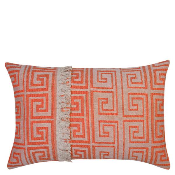 Kissenbezug 40x60 orange aus Baumwolle, zoeppritz Sunny Leg