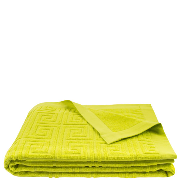 Strandtuch 150x200 neongruen aus Baumwolle, zoeppritz Water Leg