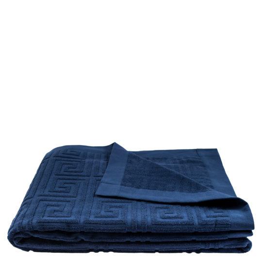Strandtuch 150x200 blau-denim aus Baumwolle, zoeppritz Water Leg