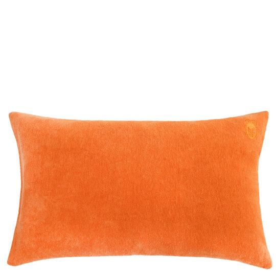 Kissenbezug 30x50 orange aus Baumwolle, zoeppritz Spot