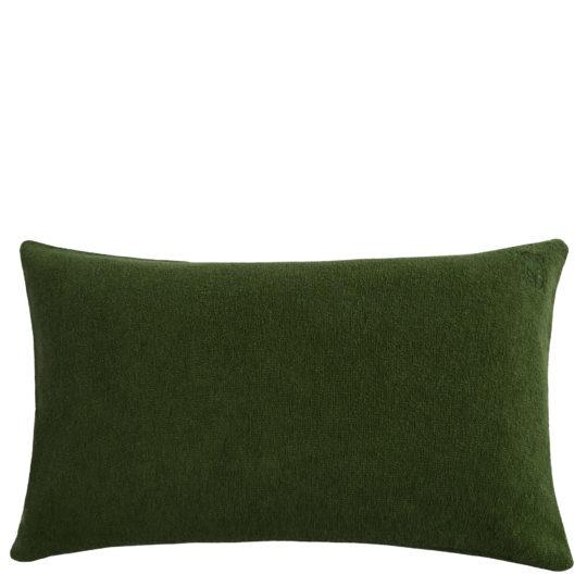 Kissenbezug 30x50 gruen aus Baumwolle, zoeppritz Spot