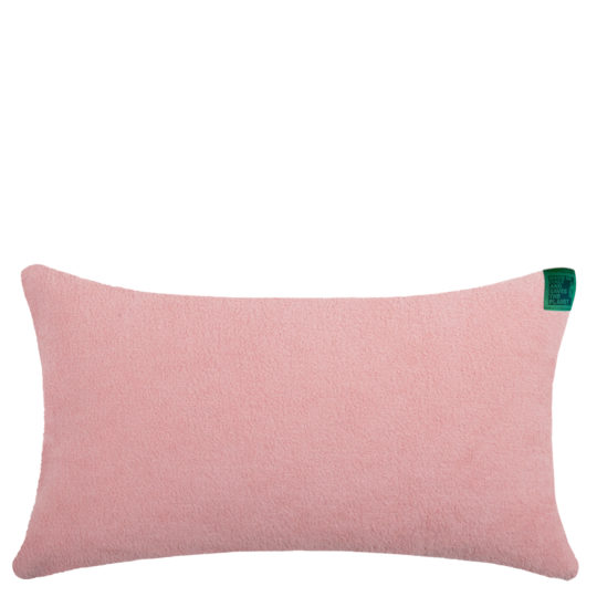 Cushion cover pink, organic cotton in 30x50cm, zoeppritz Soft-Greeny