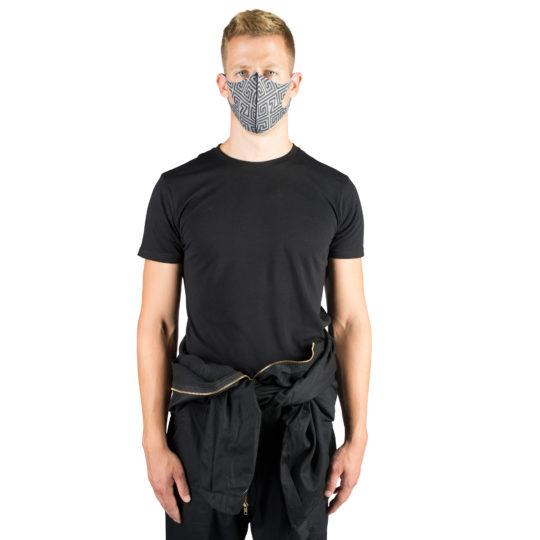T-Shirt fuer Herren und Damen in schwarz, Bio-Baumwolle in L, zoeppritz Homage to H