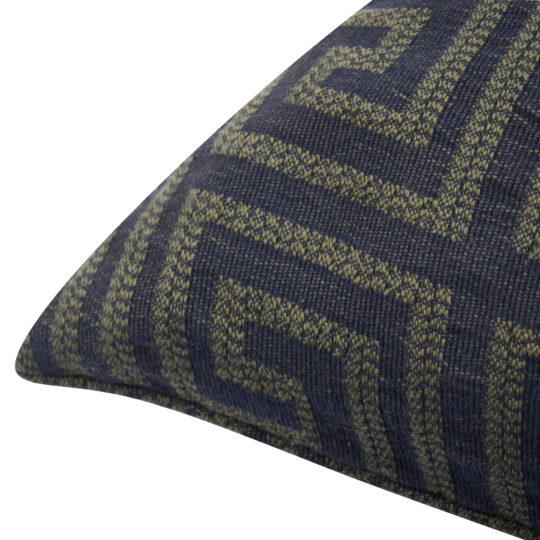 Kissenbezug 30x50cm in jaegergruen aus Baumwolle, zoeppritz Sunny Leg