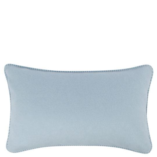 Cushion cover 30x50cm in light blue, zoeppritz Soft-Fleece