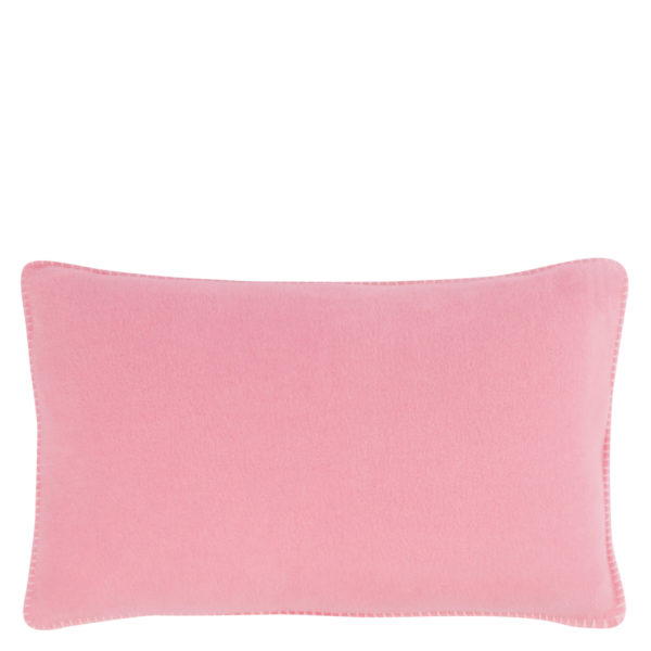 Cushion cover 30x50cm in pink, zoeppritz Soft-Fleece
