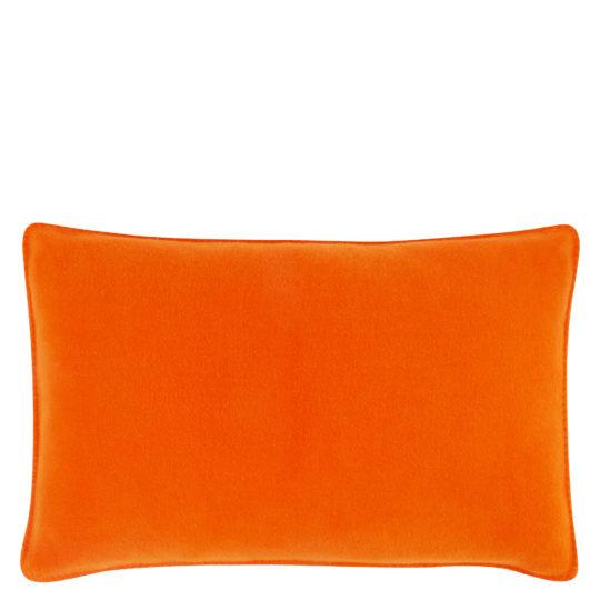 Cushion cover 30x50cm in orange, zoeppritz Soft-Fleece