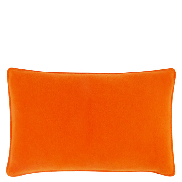 Cushion cover 30x50cm in orange, zoeppritz Soft-Fleece