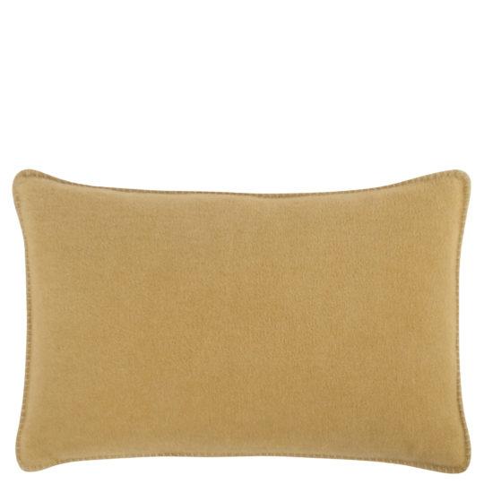 Cushion cover 30x50cm in camel color, zoeppritz Soft-Fleece