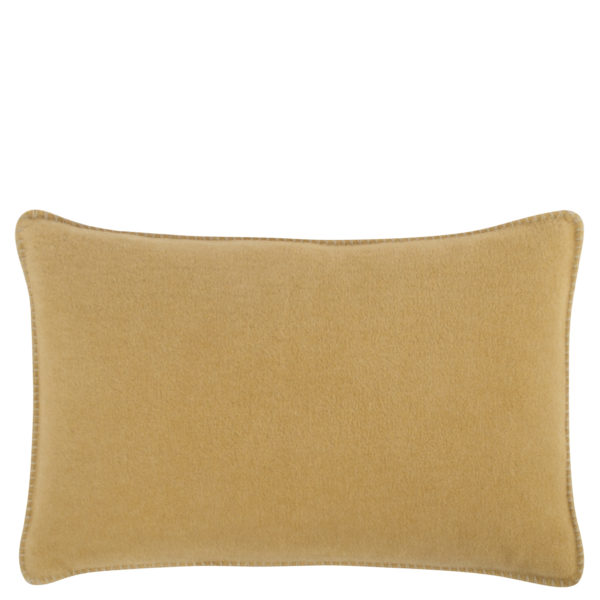 Cushion cover 30x50cm in camel color, zoeppritz Soft-Fleece