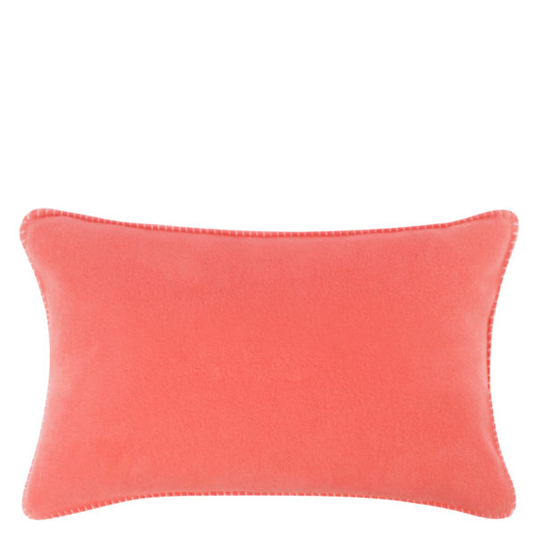 Cushion cover 30x50cm in flamingo color, zoeppritz Soft-Fleece