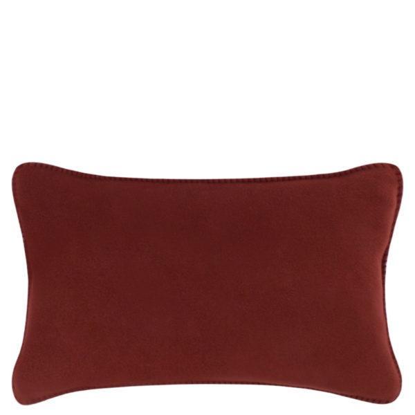 Cushion cover 30x50cm in brown, zoeppritz Soft-Fleece