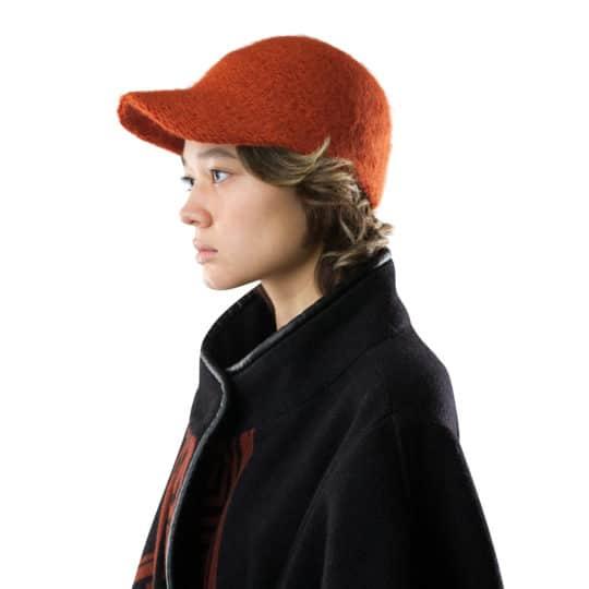 Sportliche Cap fuer Damen und Herren in orange, zoeppritz Cavalier